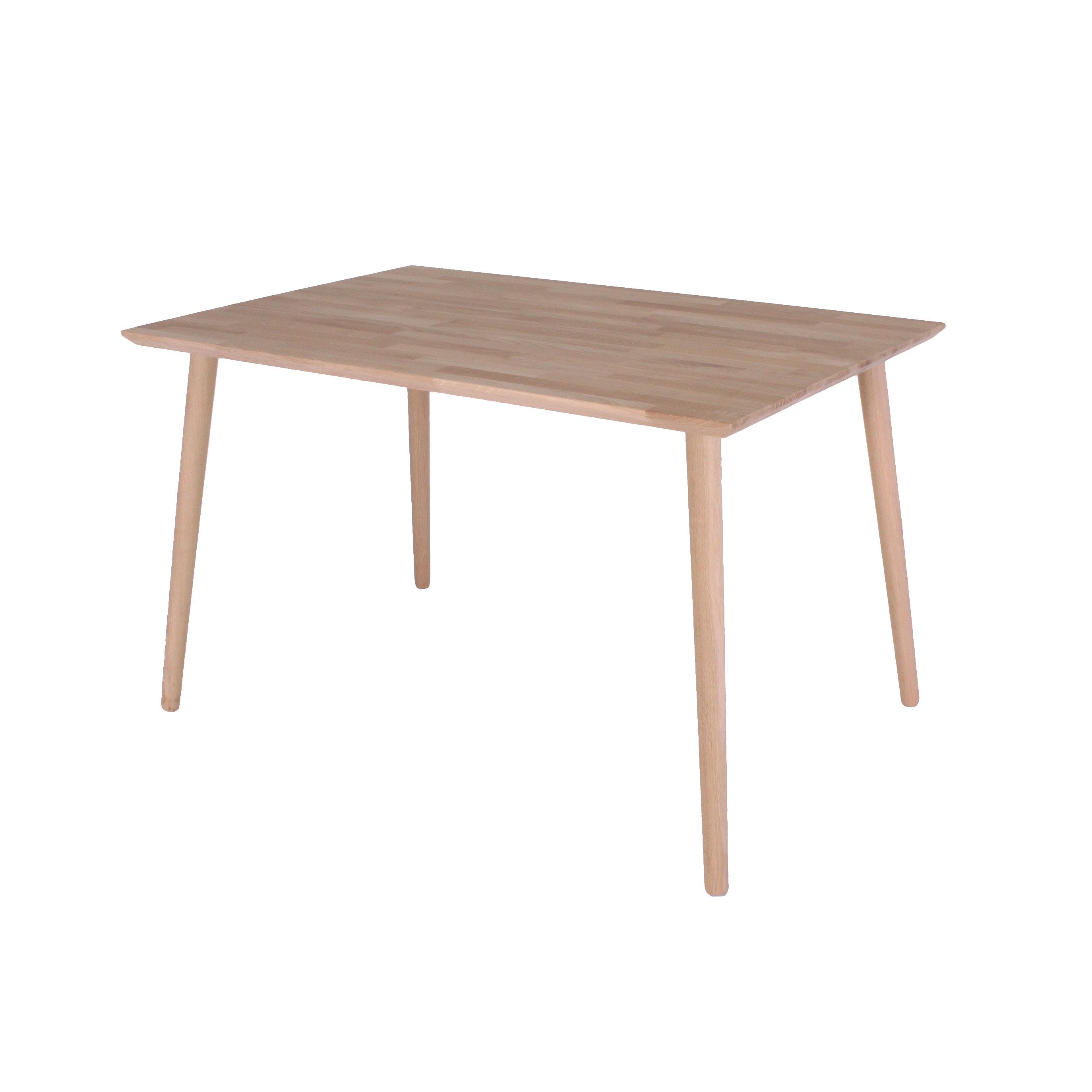 Spisebord. Arendal, massiv eg