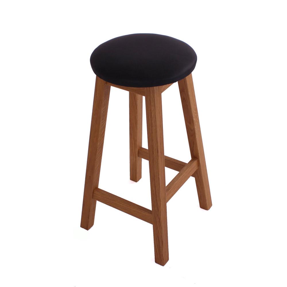 Image of   Køkken/barstol, massiv eg, olieret