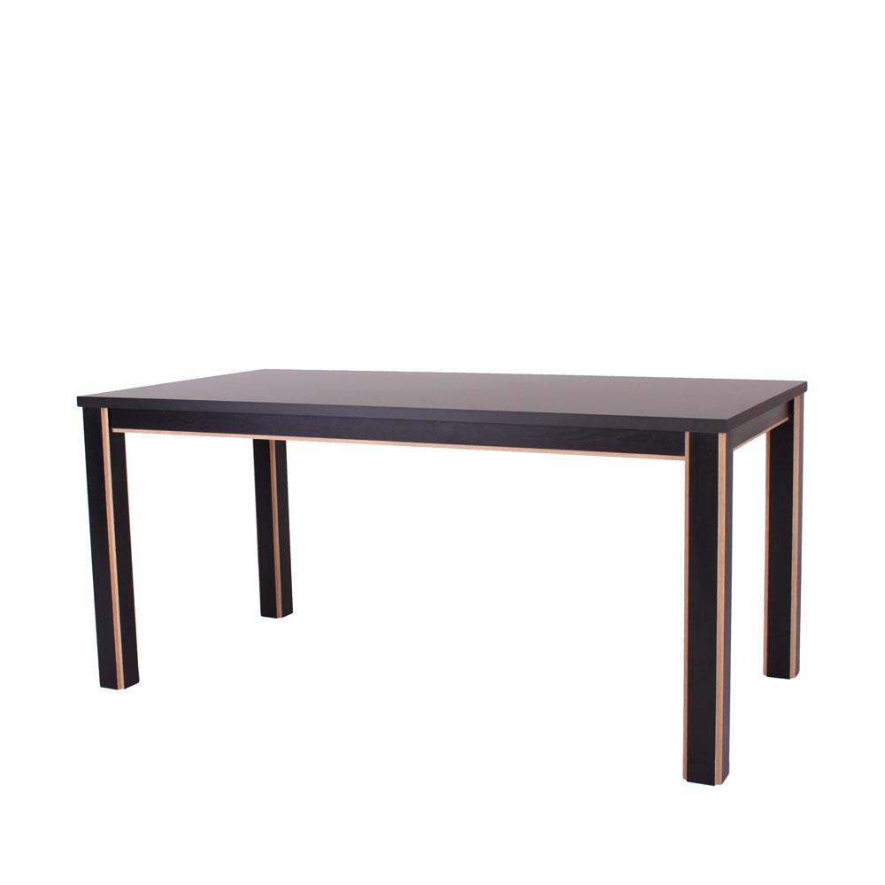 Spisebord, Drammen, sort laminat