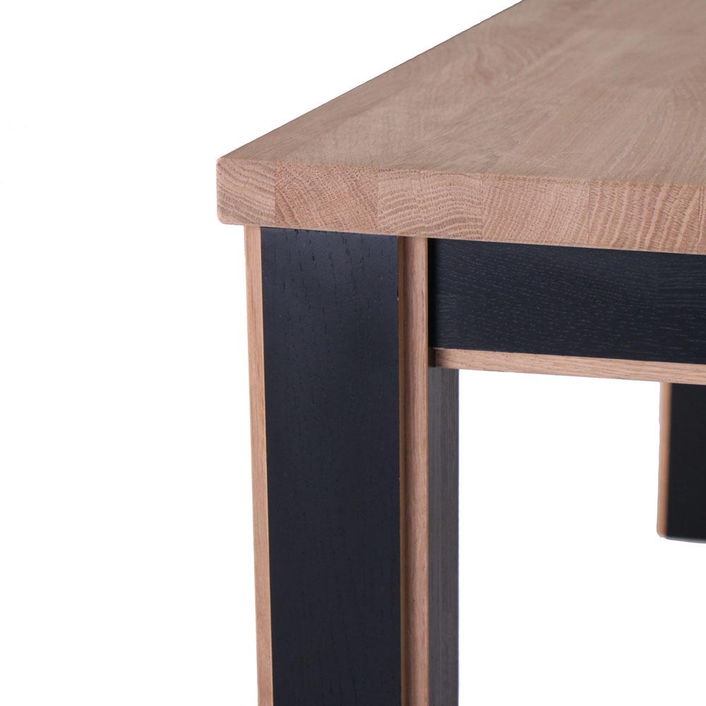 Opdateret Smart spisebord i massiv eg - Made in Denmark - Designet af By Tika.dk GA52