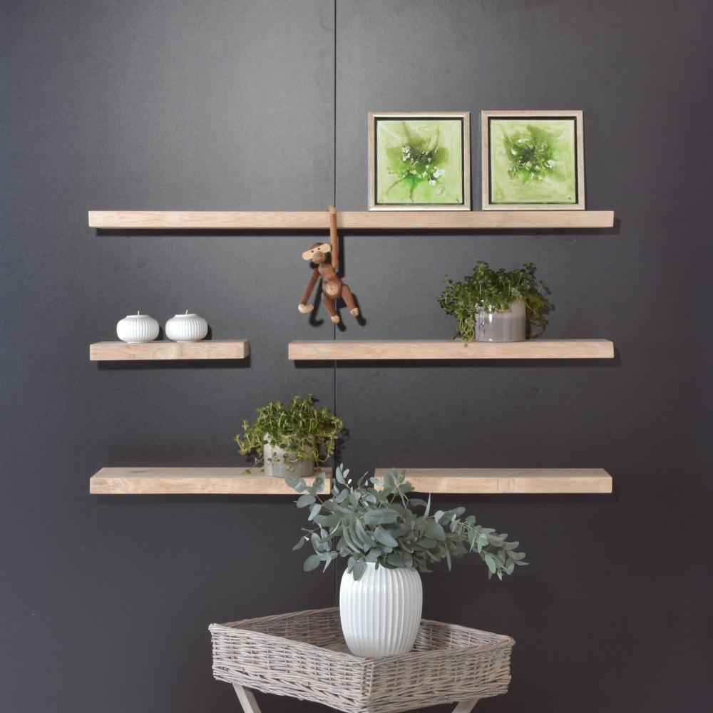 Image of   Svævende plankehylde, model Jena