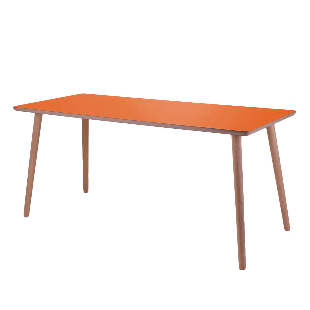 Image of   Skrivebord, Clementine, lys kant