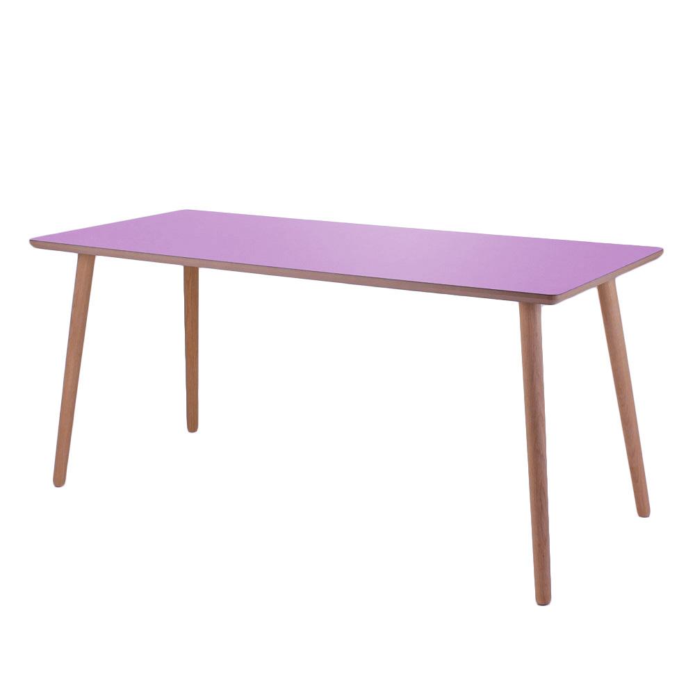 Skrivebord, Orchid, lys kant