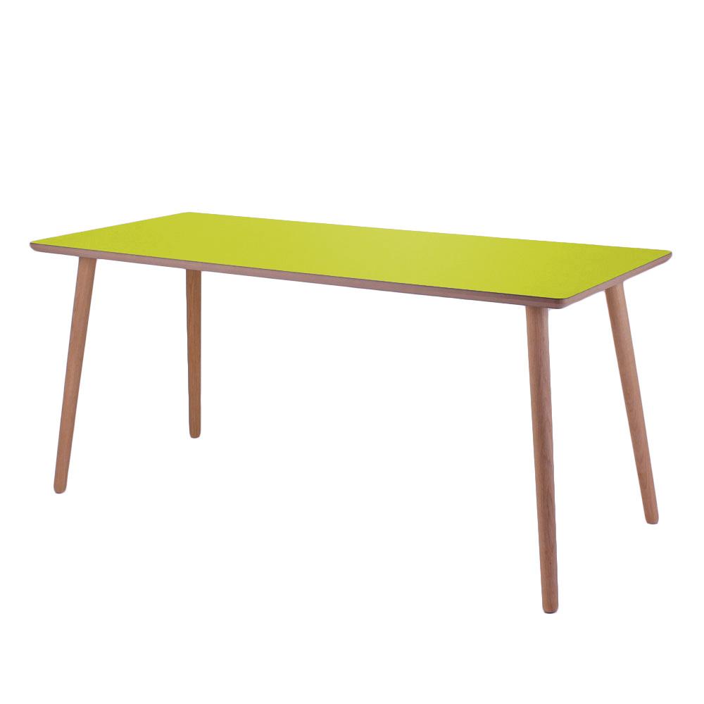 Skrivebord, Wasabi, lys kant