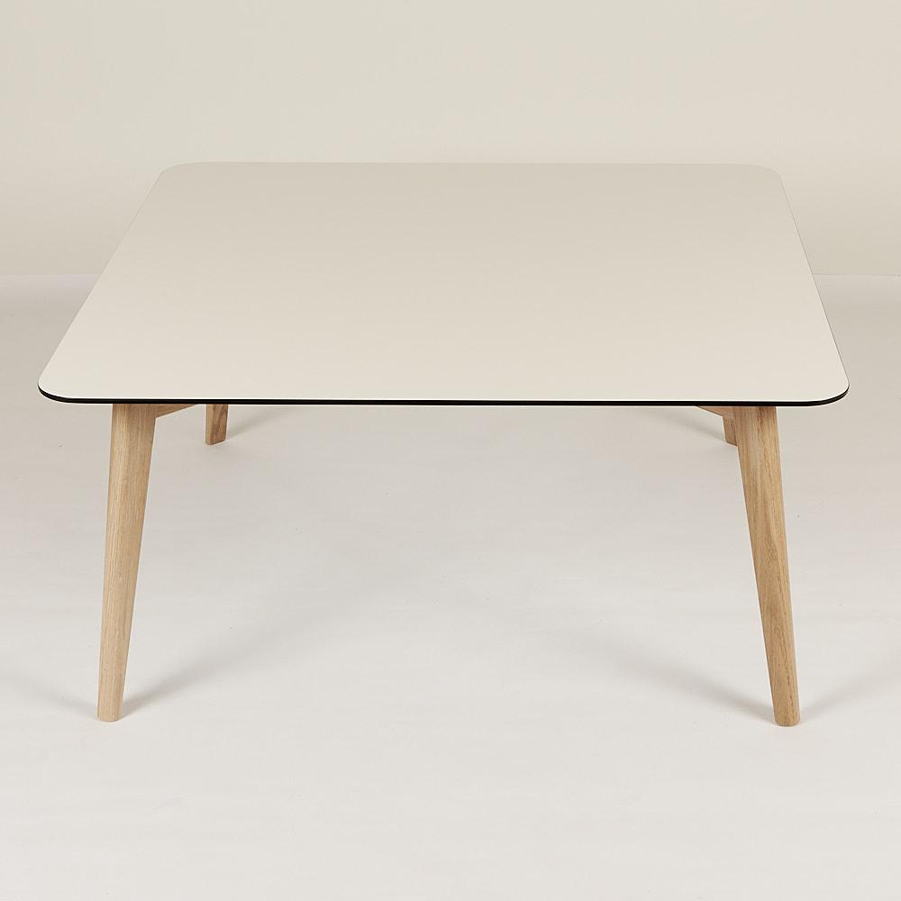 Sofabord hvid laminat- Dansk produceret - Kvalitet og lækkert design