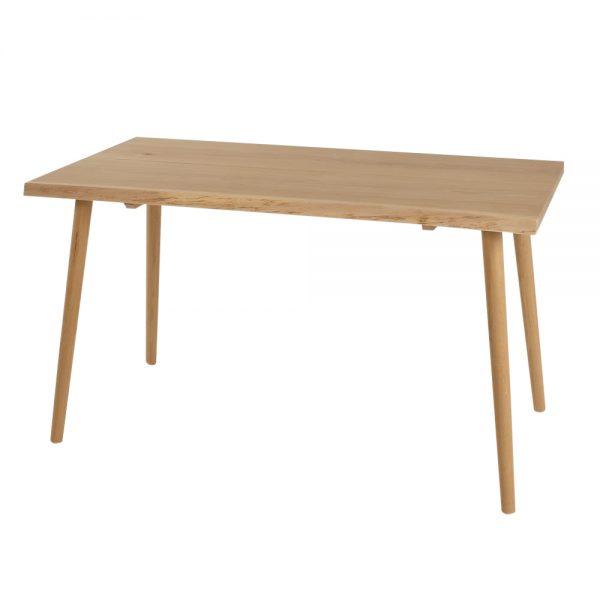 Planke skrivebord - lys eg