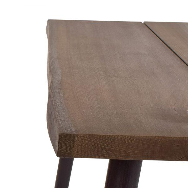 Plankebord, lys eg - detalje
